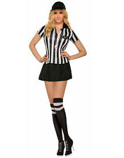 Sexy Referee Womens Adult Sports Judge Halloween Costume-Std