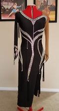 Ballroom Latin Dance Professional Competition Dress Custom Made