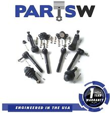 10 Parts Outer Inner Tie Rods Upper Lower Ball Joint for Chevy K3500 K2500 4Wd