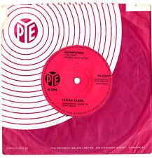"PETULA CLARK.DOWNTOWN / YOU'D BETTER LOVE ME.UK ORIG 7"" & CO/SL.EX"