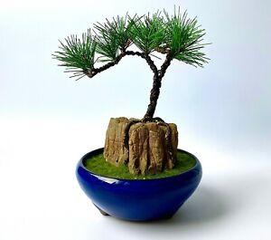 "JAPANESE BONSAI / ""HQ"" Artificial Plant / Interior bonsai / Samurai / Zen"