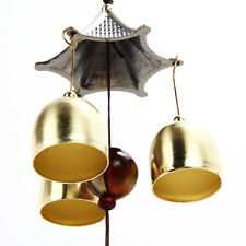 R6H1 Outdoor Living Wind Chimes Yard Garden Tubes Bells Copper 3 Tubes