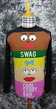 Mens S Burton dryride swag cool story bro long sleeve shirt