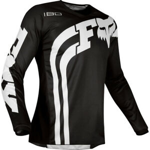 FOX RACING 180 MOTOCROSS MX BIKE MTB JERSEY - COTA BLACK