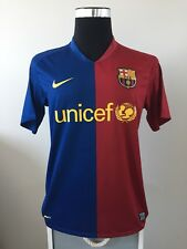 461ce49e884 Authentic Barcelona Home Football Shirt Jersey 2008 09 (M)