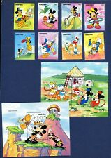 LESOTHO - 861-870 - VF MNH - Disney - Children's Games - 1991