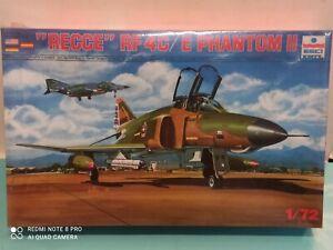 Recce RF 4 C/E Kit Plastic Model 1/72 N°9029 Esci