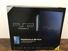 Playstation 2 Midnight Blue Console Japan PS2 System *GOOD COND - BOXED*