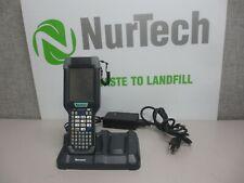 Intermec CK3NI Handheld Imager Barcode Scanner w/AD20 Single Cradle & AC ADAPTER