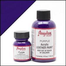 Angelus Acrylic Leather Paint Purple 29,5ml /1 oz Bottle Colour for Shoes/Jacket