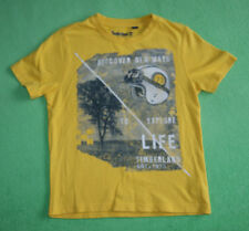 Timberland Earth keepers yellow t-shirt for boy age 8 years 100% cotton 128 cm