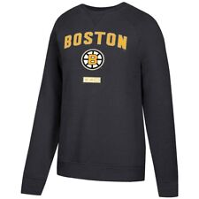 NHL Boston Bruins CCM Men's Fleece Pullover Crew Sweatshirt Size M