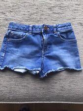 Girls Denim Shorts River Island Age 7/8
