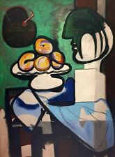 Pablo Picasso, Still Life with Bust Bowl and Palette 1932 Hand Signed Lithograph
