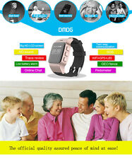New GPS Locator Smart Watch Phone Security GPS Tracker SOS Alarm for Android IOS