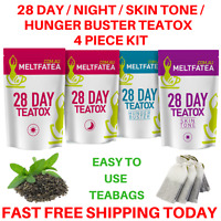 28 DAY KIT DETOX TEATOX SKINNYMINT BOOTEA HERBAL WEIGHT LOSS BURN FAT TEA BURNER