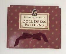 American Girls Doll Dress Patterns SAMANTHA Excellent Retired