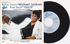 """Michael Jackson BILLIE JEAN Disque 45t 7"""" Vinyl Single Record Disc JAPAN 1983"""