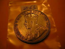 CANADA RARE KEYDATE 1931 SILVER 50 CENT COIN ID#Z63