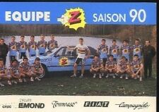 Team Equipe Z 90 Cyclisme Cycling GREG LEMOND Robert MILLAR Ronan PENSEC cyclist