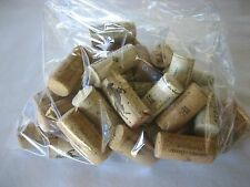 LOT OF 25 WOOD WINE CORKS CRAFT SUPPLIES No Synthetic **