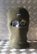 GREEN One (1) Hole Thinsulate Balaclava / Beanie Hat - Very Warm - Brand New