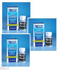 No Lift Nails Nail Primer for Acrylics or UV Gels, Preps Nails 3 -.75 oz.