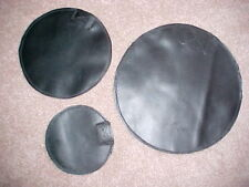 "NEW SET 6""-9"" & 12"" HEAVY LEATHER SHOT/SAND BAG DOLLIES-AUTO BODY REPAIR/IN USA"