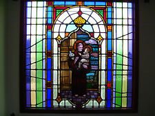 New listing Large Piece Antique Stained Glass Window