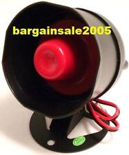 12V DC Positive Trigger Car Alarm Siren