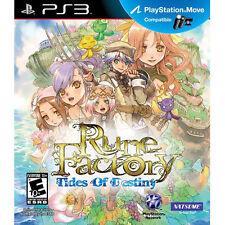 Rune Factory: Tides of Destiny (Sony PlayStation 3, 2011) BRAND NEW