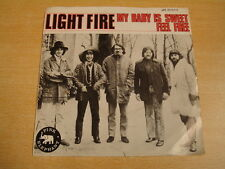 LIGHT FIRE - MY BABY IS SWEET / 45 PS PINK ELEPHANT
