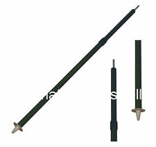 2 x LONG EXTENDING TWIST BIVI POLES for basha hide tent