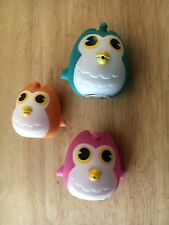 12 BIRTHDAY PARTY OWL FAVORS - You're A Hoot Owl Shaped Water Toy SQUIRTERS