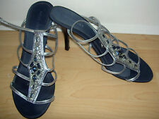 Nine West sandals size 5 torquise