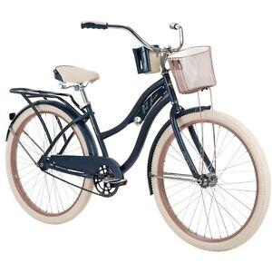 "Huffy 26"" Nel Lusso Women's Beach Cruiser Bike, Blue Free Shipping"