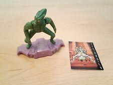 Vintage 2002 Marvel Spiderman Figurine Green Goblin, présentoir de pièces mobiles