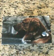 PETFON SMART TRACKER DOG GPS LOCATION DEVICE NO MONTHLY FEE