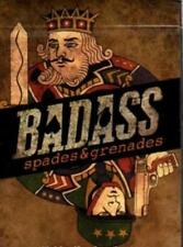 Bad Ass Spades & Grenades Deck Playing Cards Poker Size USPCC Custom Limited New