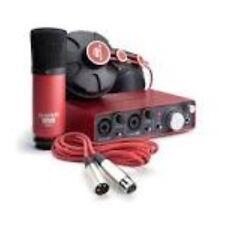 Focusrite Scarlett Studio Pack Gen 1 Pak w Microphone Headphones - REFURB