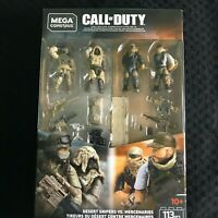 Mega Construx Call of Duty Desert Snipers vs. Mercenaries Set