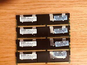 HP Elpida 1gb 1rx8 PC2 5300f-555 11-b0