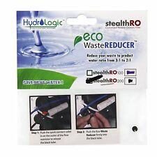 Hydro Logic Eco waste reducer ro200 gpd 2:1 RO filter