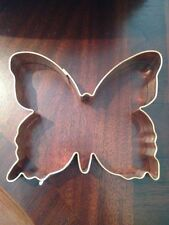 """NWT BUTTERFLY Shaped Solid Copper Cookie Cutter Biscuit Mold 5.5"""" x 4.5"""""""