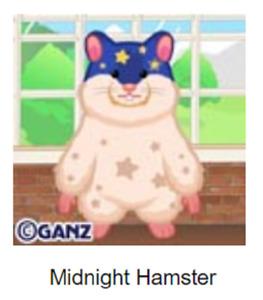 Webkinz Classic Midnight Hamster *Code Only*