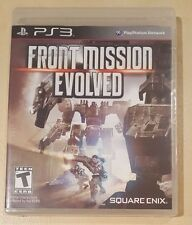 Front Mission Evolved (Sony PlayStation 3, 2010) - BRAND NEW & FACTORY SEALED