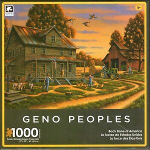 Back Bone of America 1000 Piece Puzzle - Geno Peoples