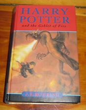 JK Rowling 2000 Bloomsbury Harry Potter And The Goblet of Fire Hardcover Book