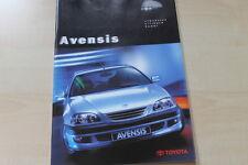 88284) Toyota Avensis Prospekt 07/1998