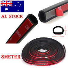 8 Meter D-Shape Car Truck Door Rubber Seal Strip Wheatherstrip Sealing Hollow